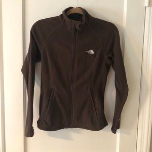 North Face full zipper sweater